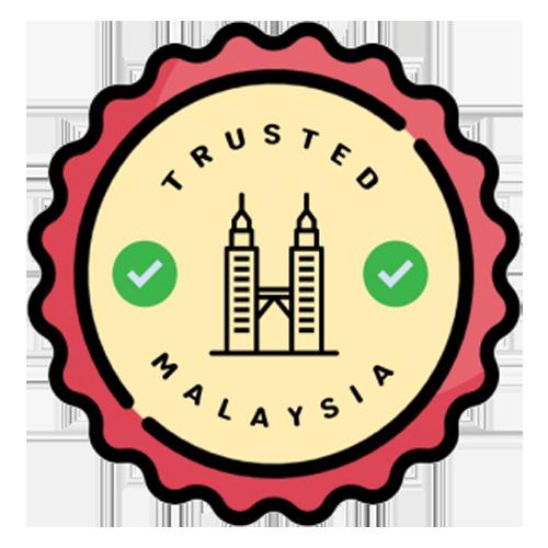 Trusted Malaysia logo